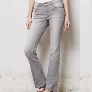 Anthropologie Pilcro Stet Fit Bootcut Grey Jeans